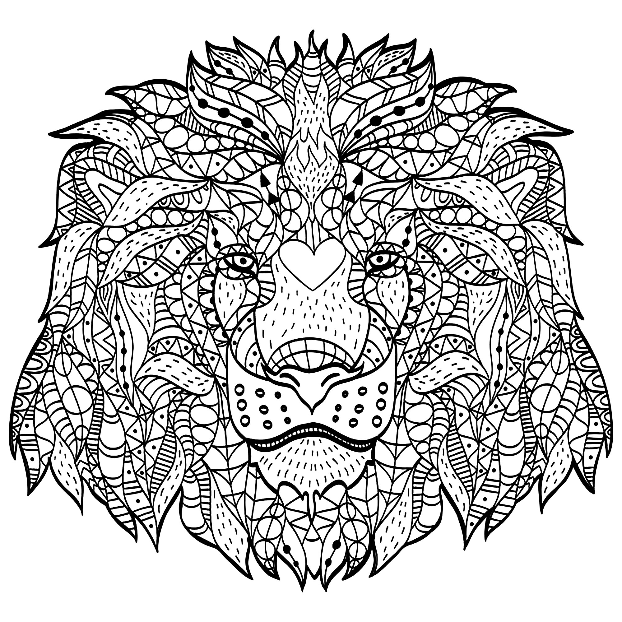 coloring lion pages lion coloring pages to download and print for free pages lion coloring