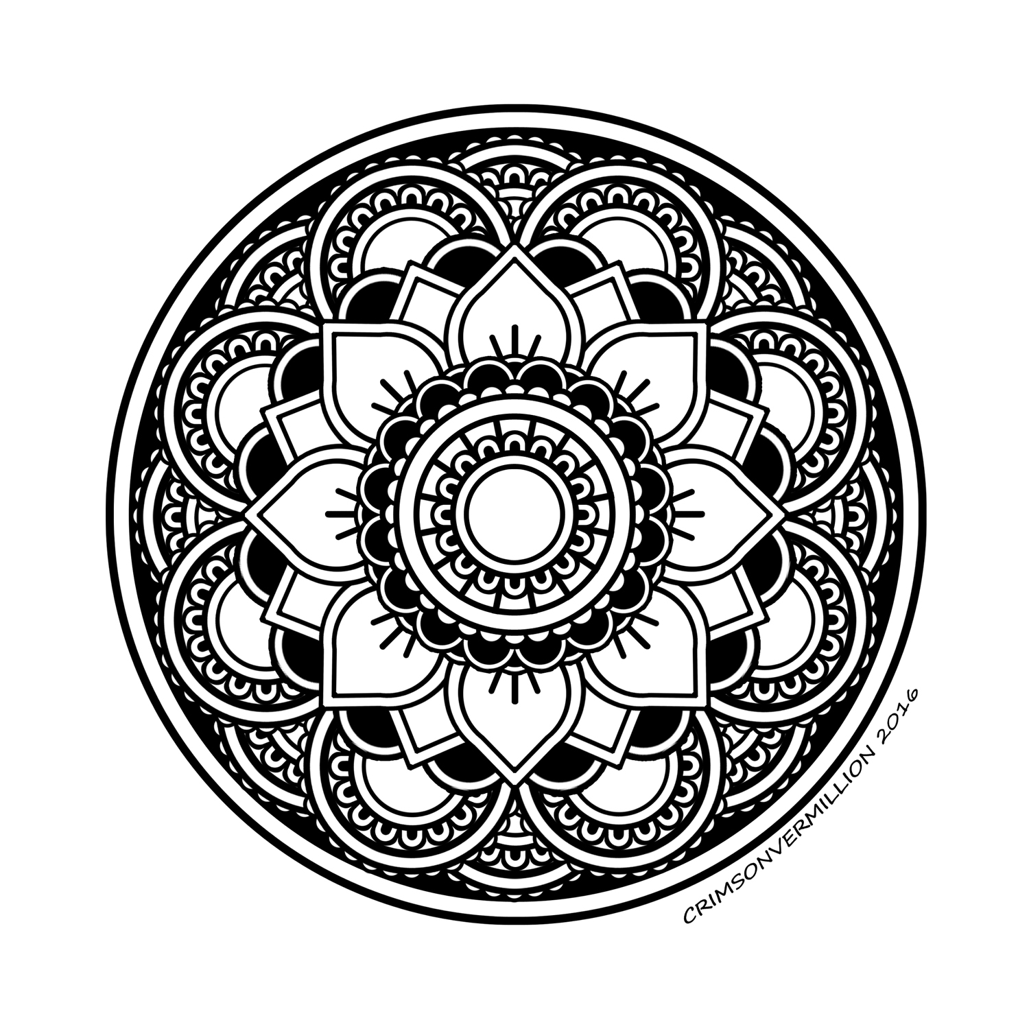 coloring mandala with color easy flower with leaves  simple mandalas  100 mandalas color with mandala coloring