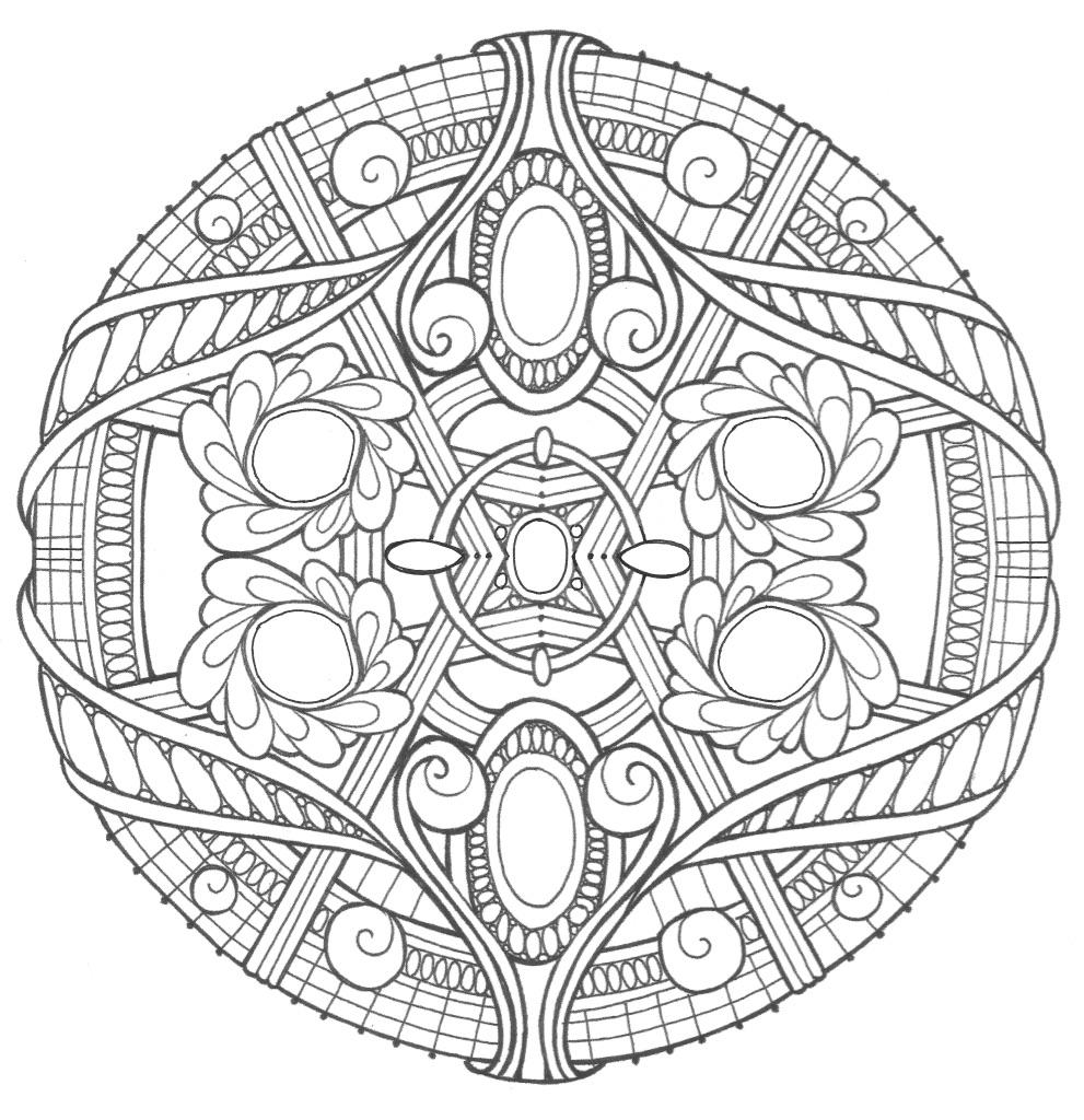 coloring mandala with color mandala yin yang  mandalas adult coloring pages color mandala with coloring