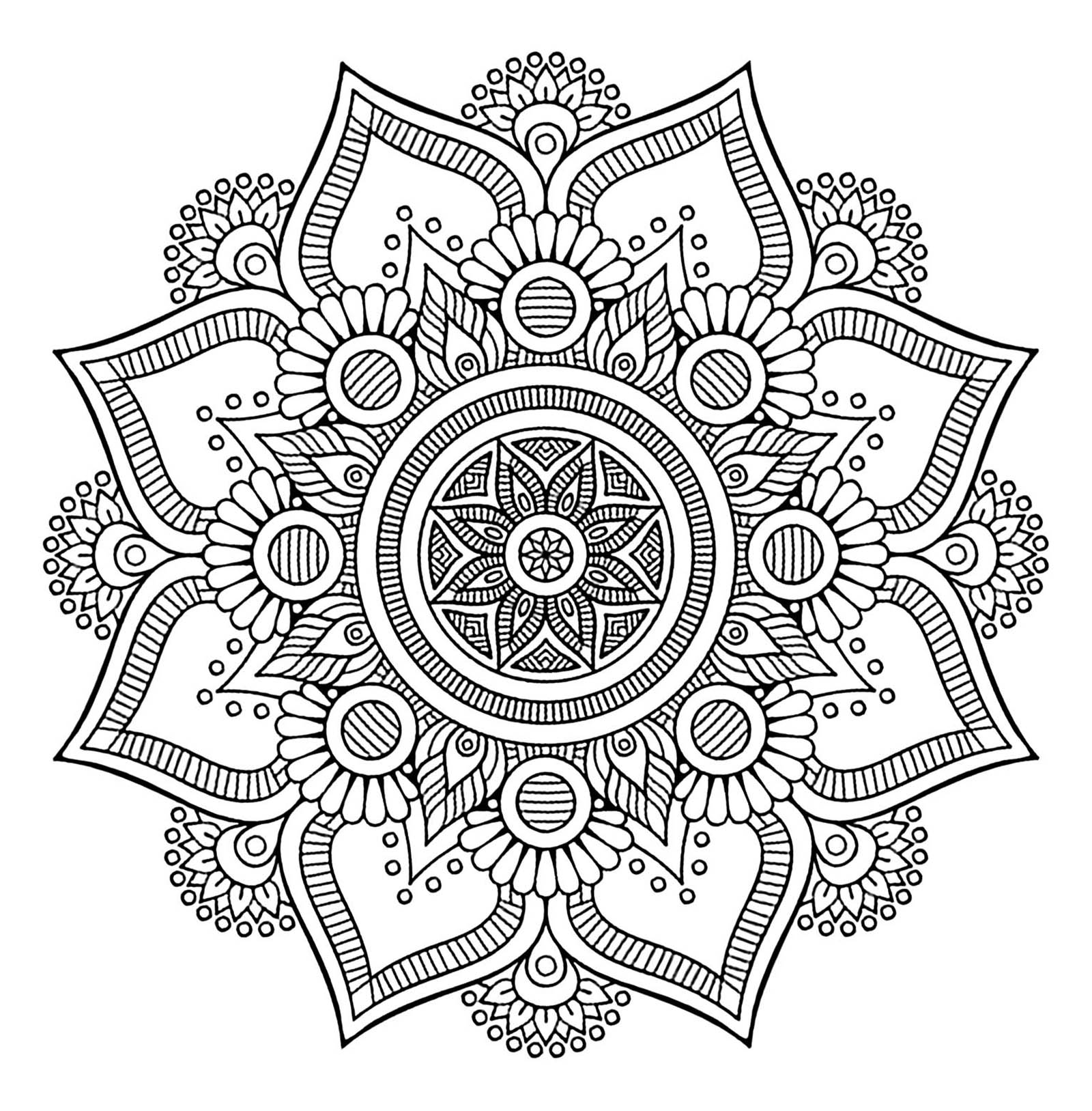 coloring mandala with color mandalas to color for children mandalas kids coloring pages with coloring mandala color