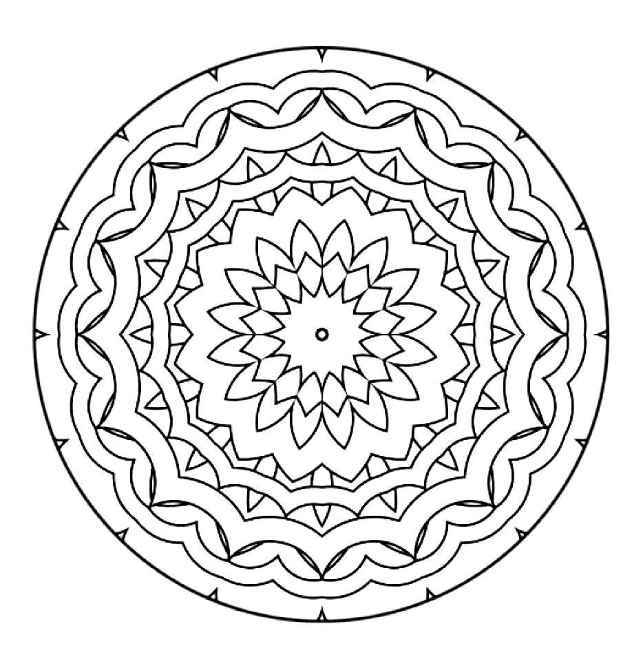 coloring mandala with color opal palace mandala coloring page favecraftscom color with mandala coloring