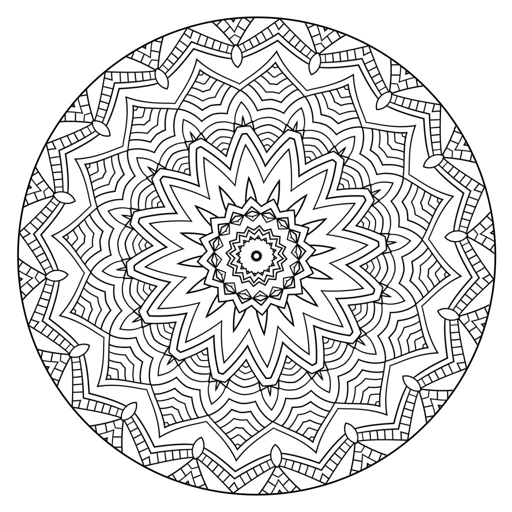 coloring mandala with color ornamental floral mandala  mandalas adult coloring pages mandala with coloring color