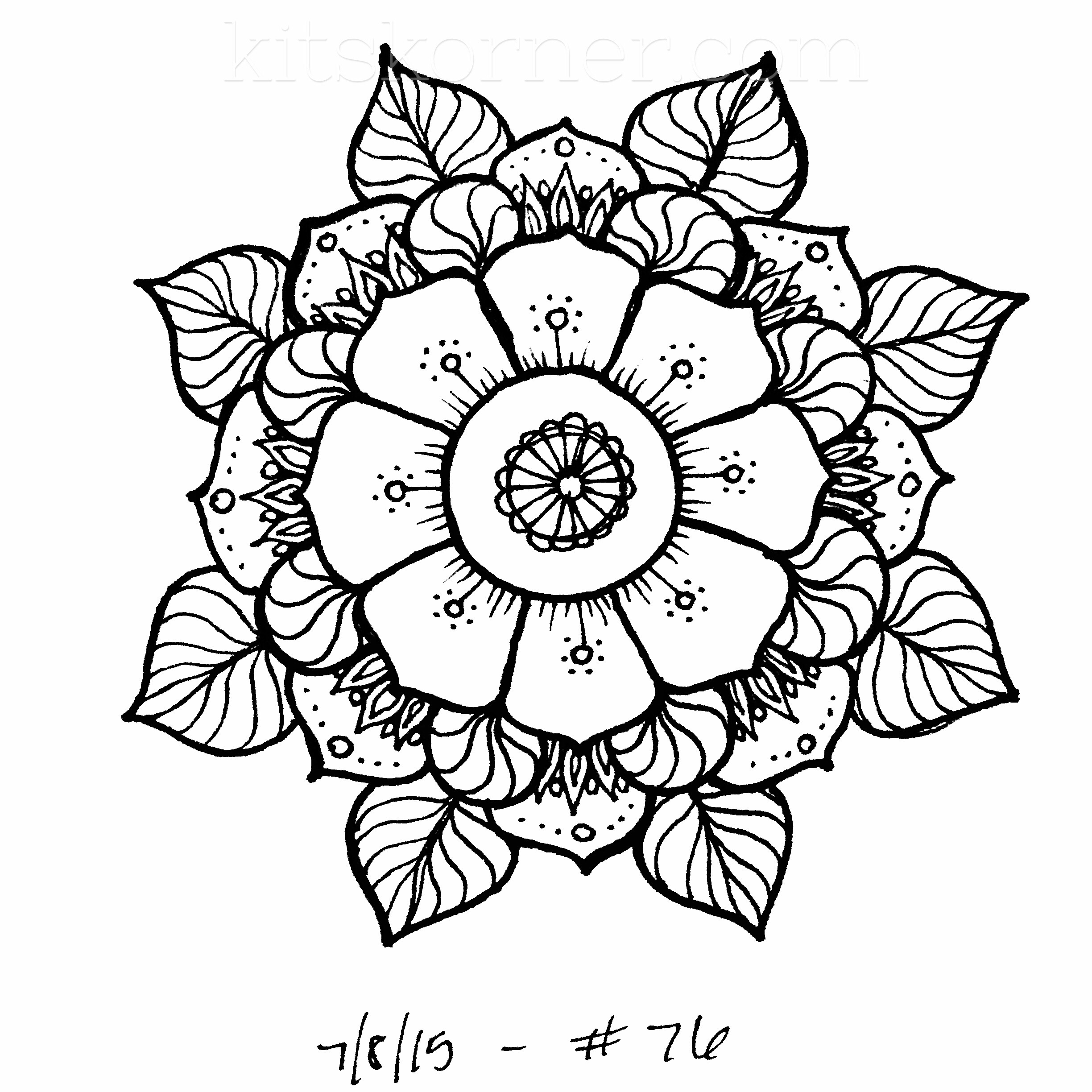 coloring mandala with color peaceful unity  mandalas adult coloring pages mandala with color coloring