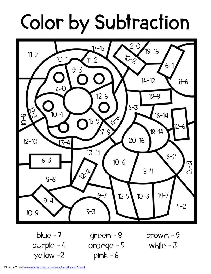 coloring math 2nd grade 2nd grade math color by number coloring pages math hard coloring math grade 2nd