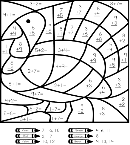 coloring math 2nd grade 2nd grade math color by number coloring pages sketch 2nd grade coloring math