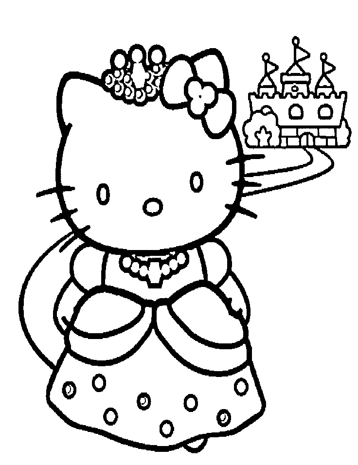 coloring mermaid hello kitty mermaid coloring pages free download on clipartmag kitty hello coloring mermaid