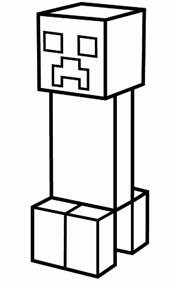 coloring minecraft creeper minecraft coloring pages creeper printable coloring pages coloring minecraft creeper