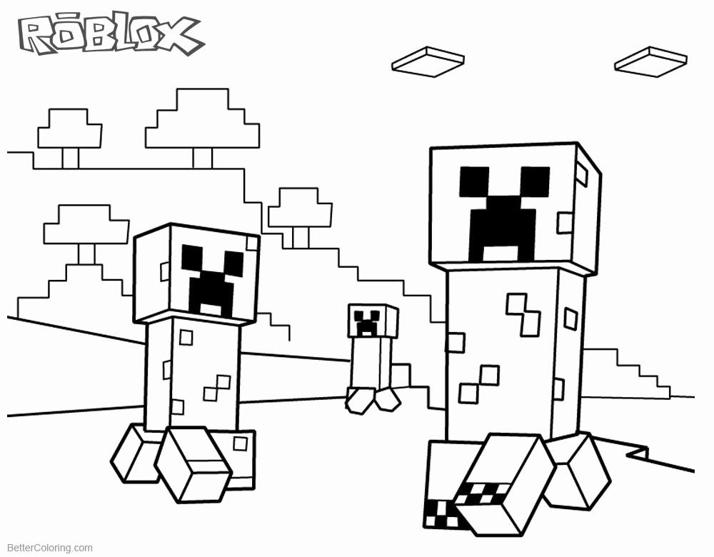 coloring minecraft creeper minecraft creeper coloring pages printable at getdrawings creeper minecraft coloring