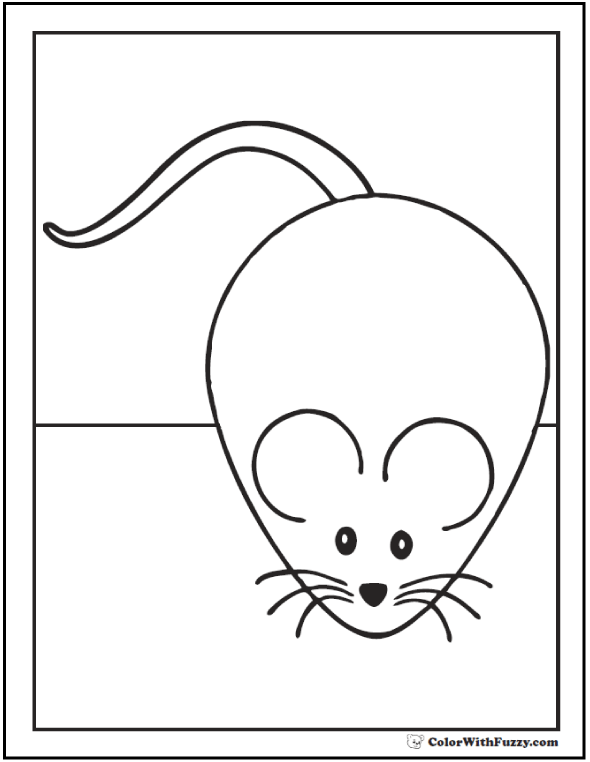 coloring mouse cute mickey mouse coloring pages first coloring for our coloring mouse