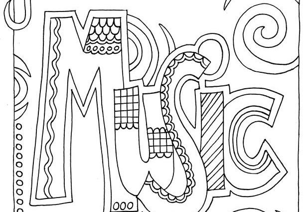 coloring music cover page binder coloring pages at getcoloringscom free printable page music coloring cover