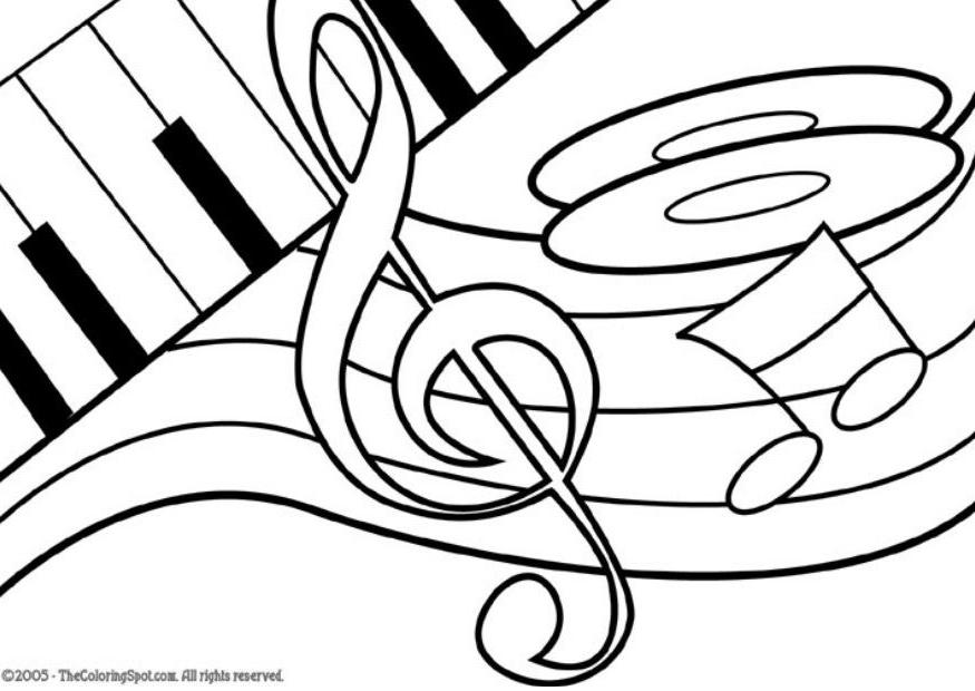coloring music cover page music notes coloring pages clipart panda free clipart music page cover coloring