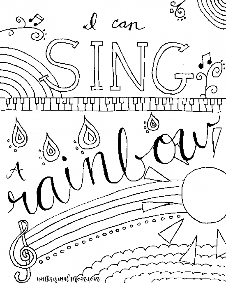 coloring music cover page musical notes coloring pages coloring home music coloring cover page
