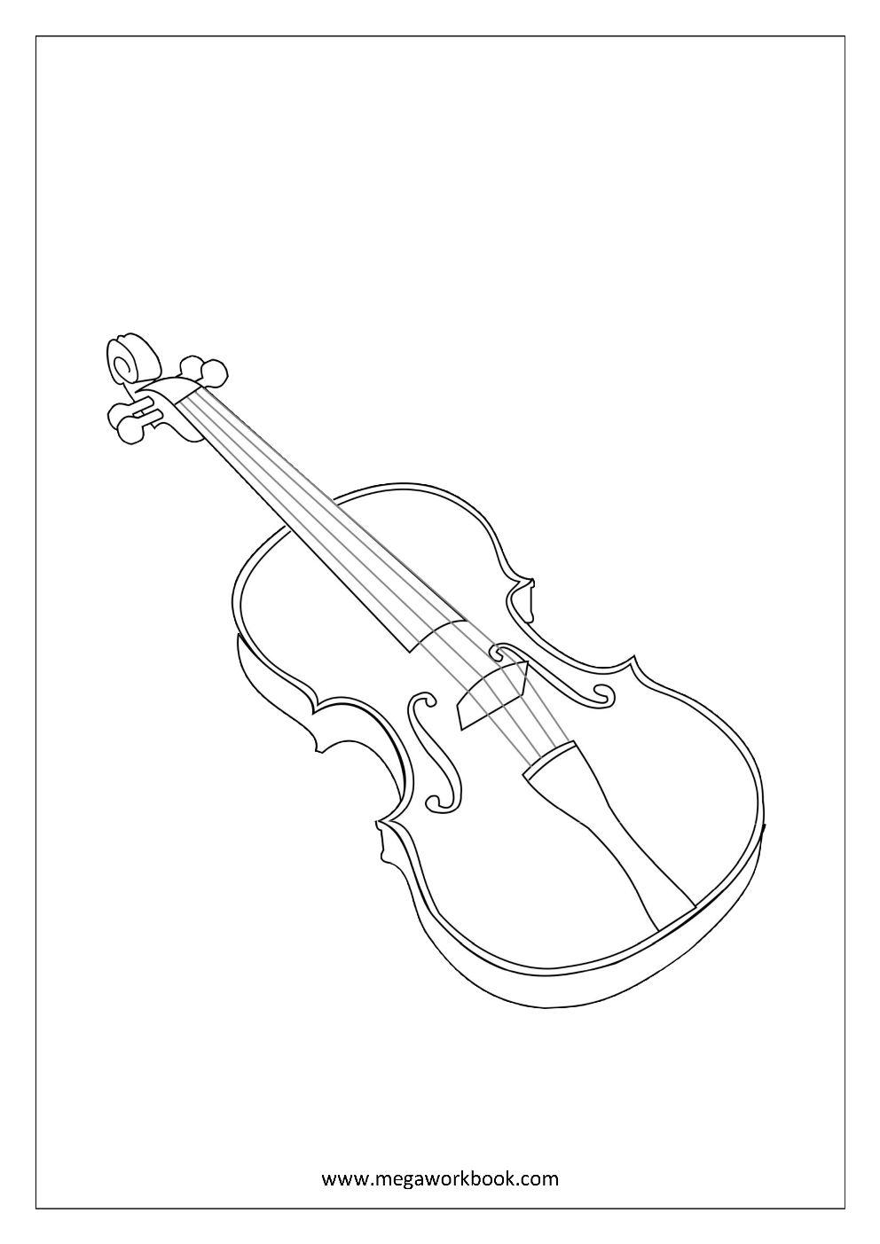 coloring musical instruments 14 best images of musical instruments worksheets for musical instruments coloring