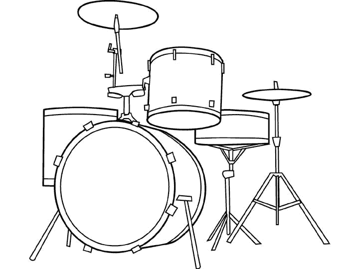coloring musical instruments drawing 6 best musical instruments coloring pages for kids coloring drawing musical instruments