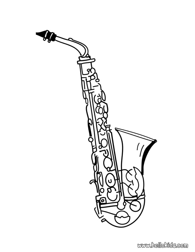 coloring musical instruments drawing gutair colouring pages printable colouring pictures of musical instruments drawing coloring