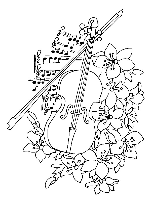 coloring musical instruments instrument coloring sheets the bulletin board lady musical coloring instruments