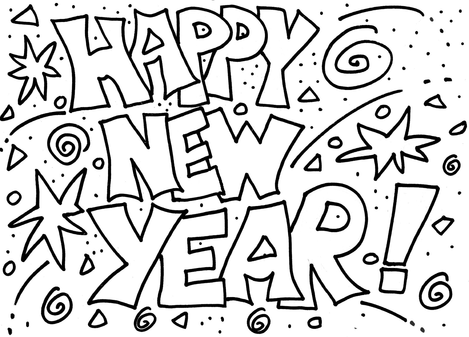 coloring new year happy new year 2020 coloring pages coloring home new coloring year