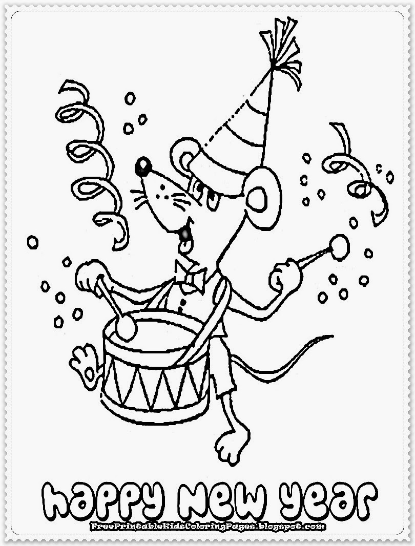 coloring new year new years eve coloring pages printable kerra coloring year new
