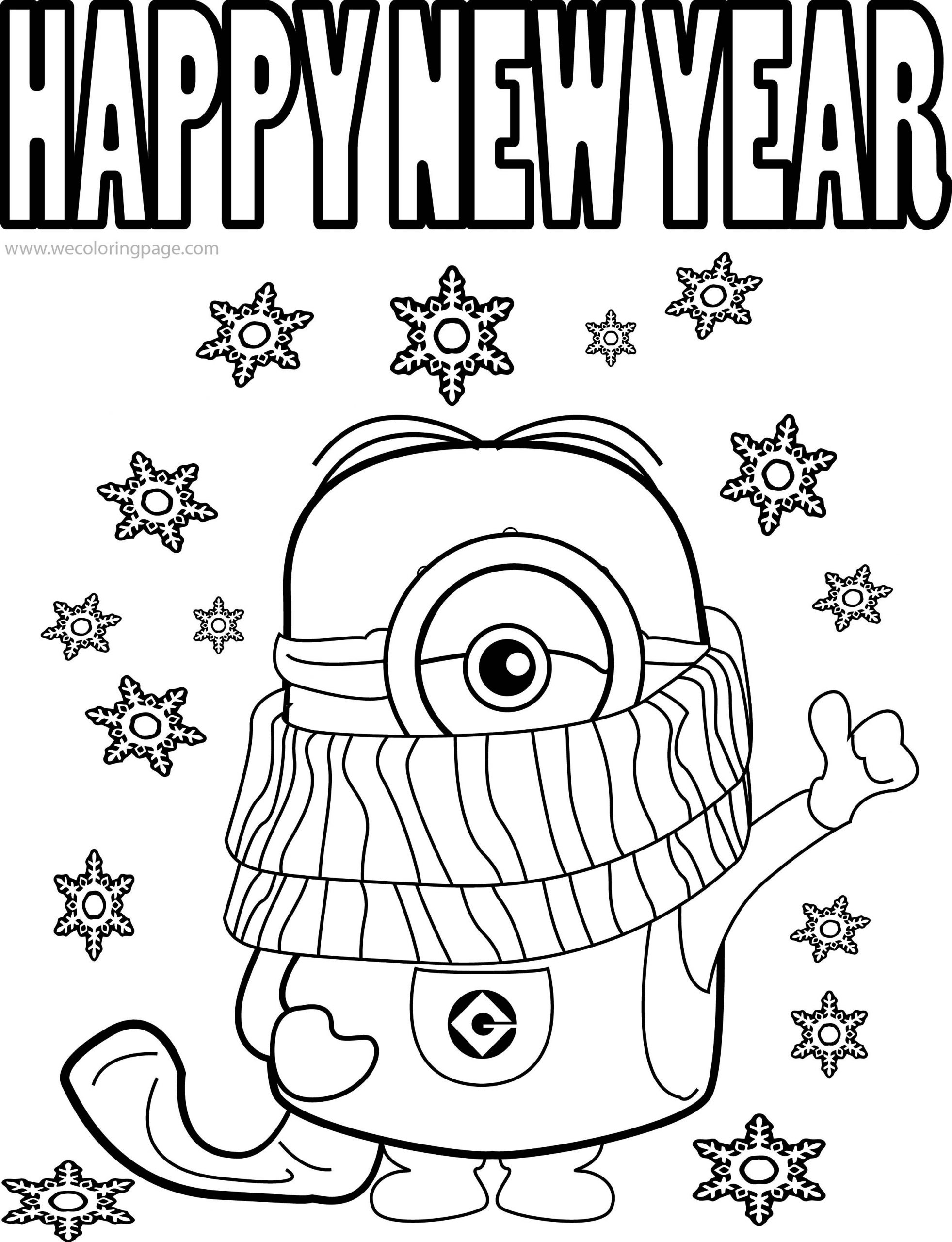 coloring new year printable happy new year coloring pages for kidsfree year coloring new
