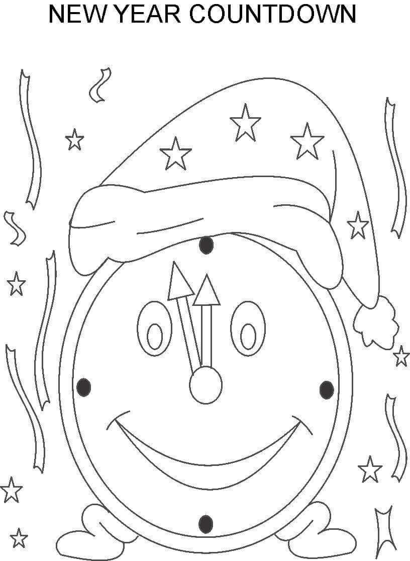 coloring new year printable new year coloring pages coloring year new
