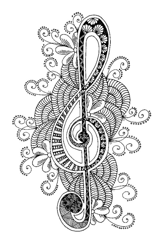 coloring notes musical note coloring page download free musical note coloring notes