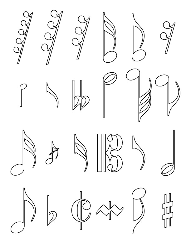 coloring notes musical notes coloring pages coloring home notes coloring