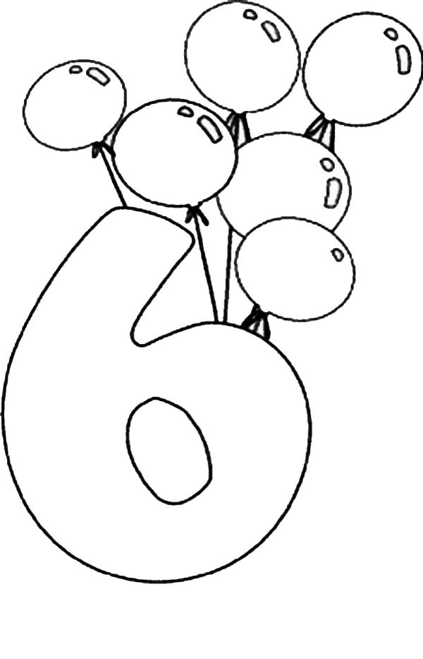 coloring number 6 number 6 coloring pages coloring home coloring 6 number