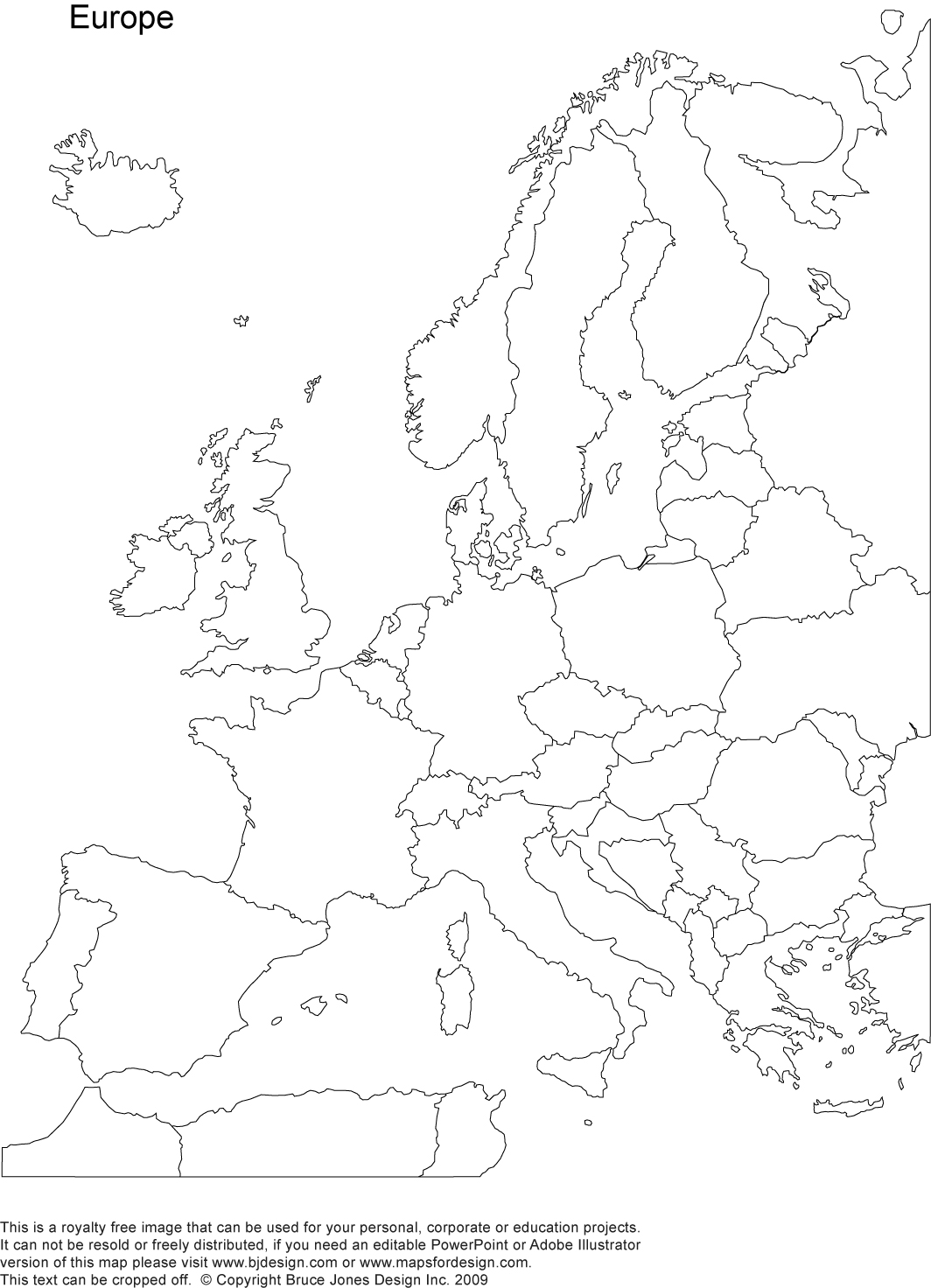 coloring outline map of europe with country names blank map of europe printable outline map of europe coloring with europe names of outline country map