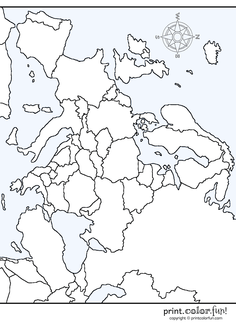 coloring outline map of europe with country names europe countries coloring pages coloring page book for kids map outline coloring of with names country europe