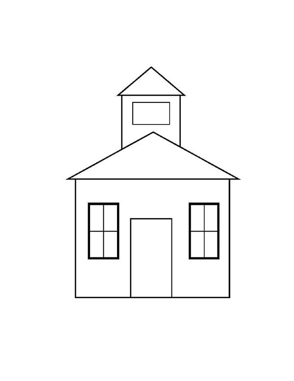 coloring outline of a house free coloring pages of house outline dog house coloring house of coloring a outline