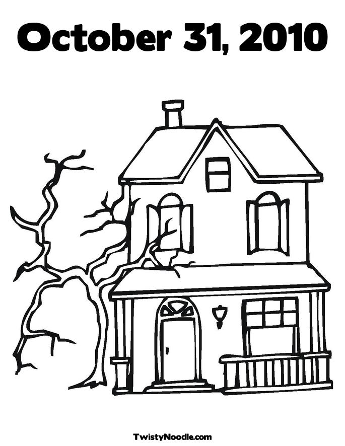 coloring outline of a house house coloring page coloringpagezcom coloring house outline a of