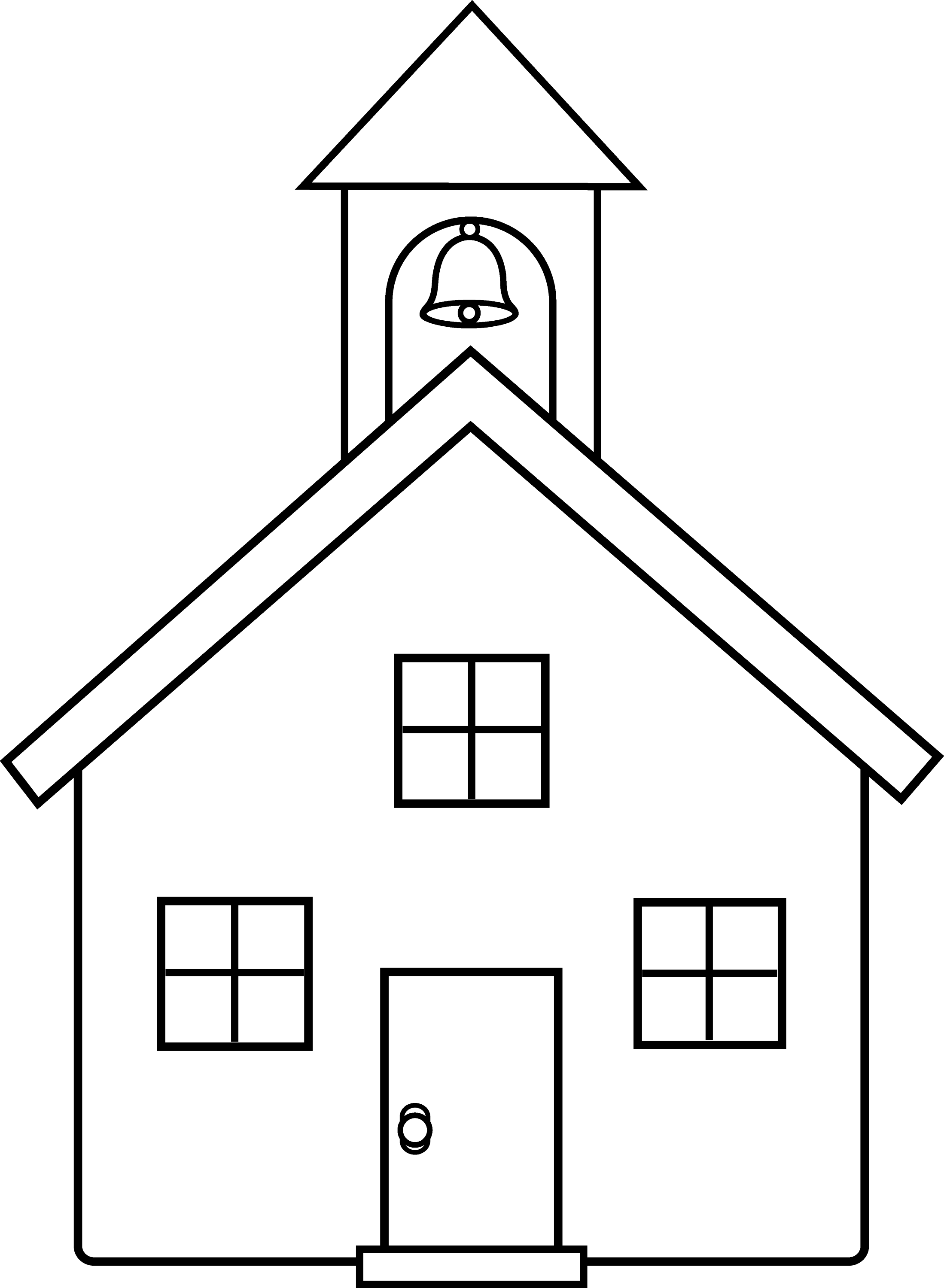 coloring outline of a house house outline stock vector image of home book black coloring outline a of house