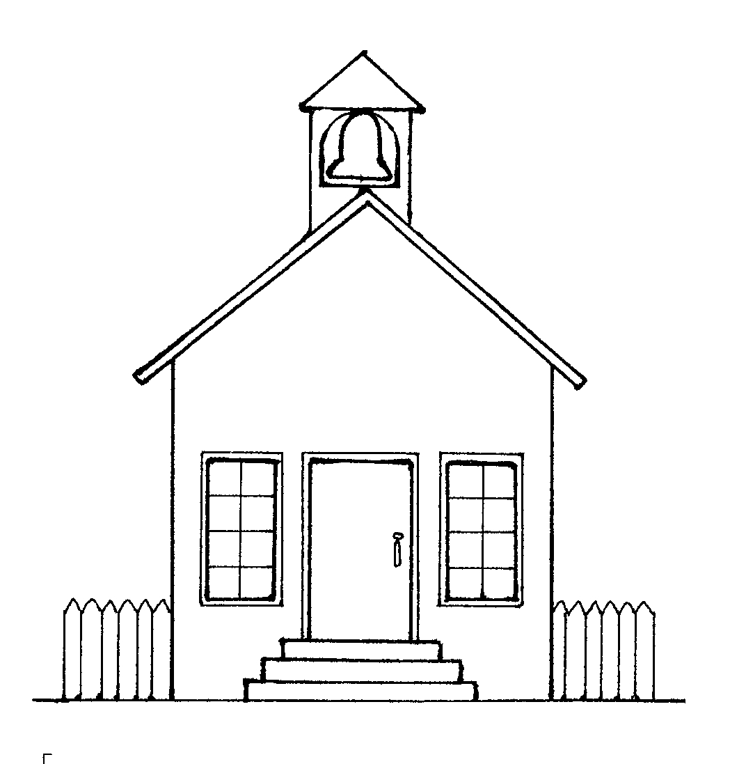 coloring outline of a house school house outline coloring page school house outline a outline house of coloring
