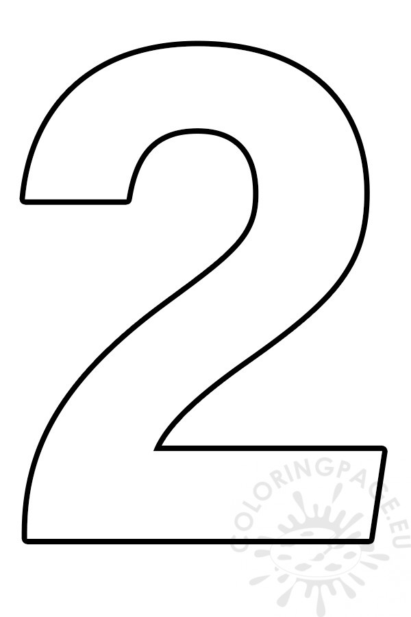 coloring page 2 fileclassic alphabet numbers 2 at coloring pages for kids 2 page coloring
