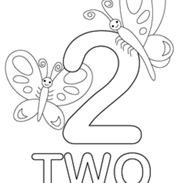 coloring page 2 fileclassic alphabet numbers 2 at coloring pages for kids page 2 coloring