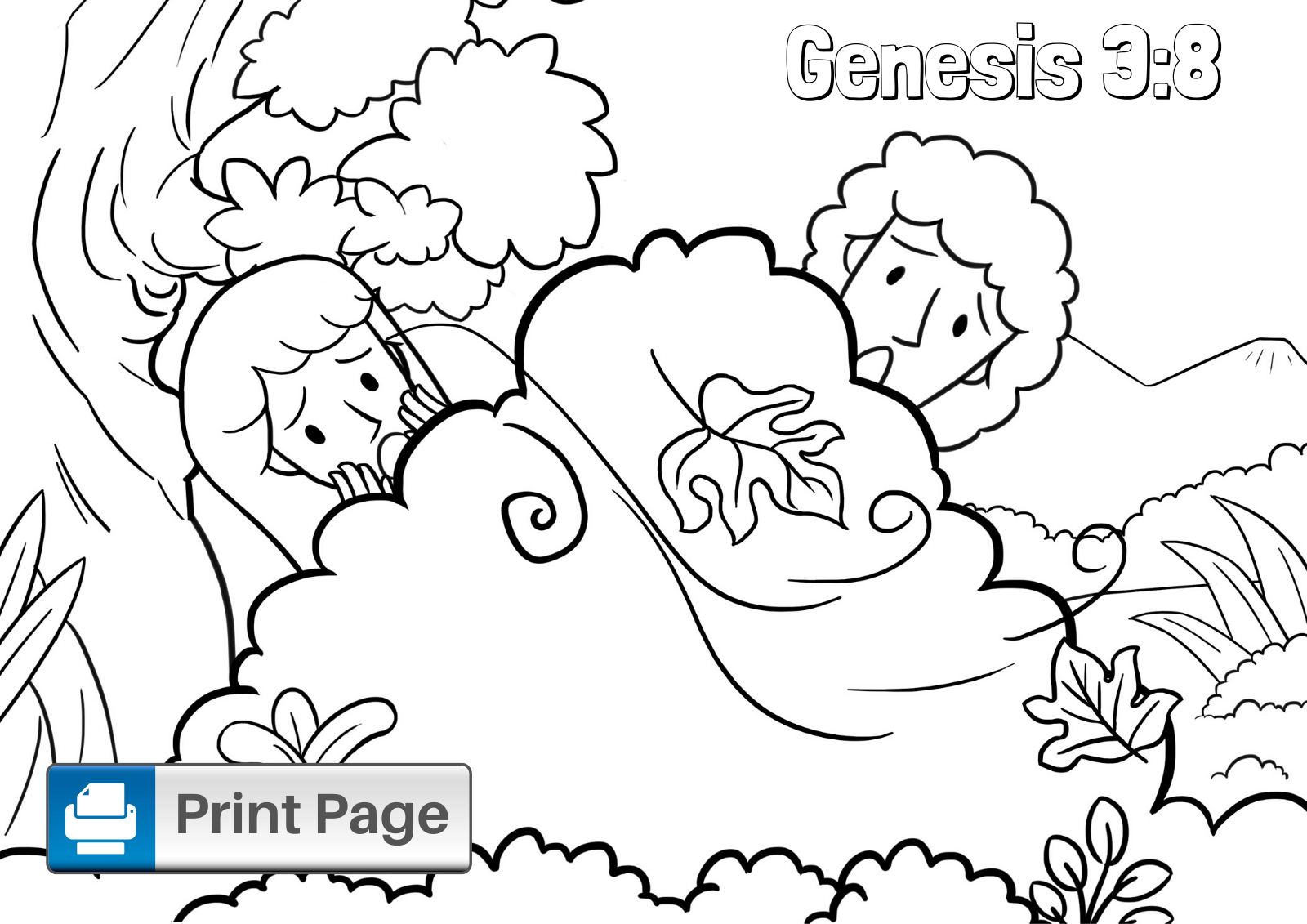 coloring page adam and eve adam and eve coloring sheet in 2020 fall coloring pages eve and page coloring adam