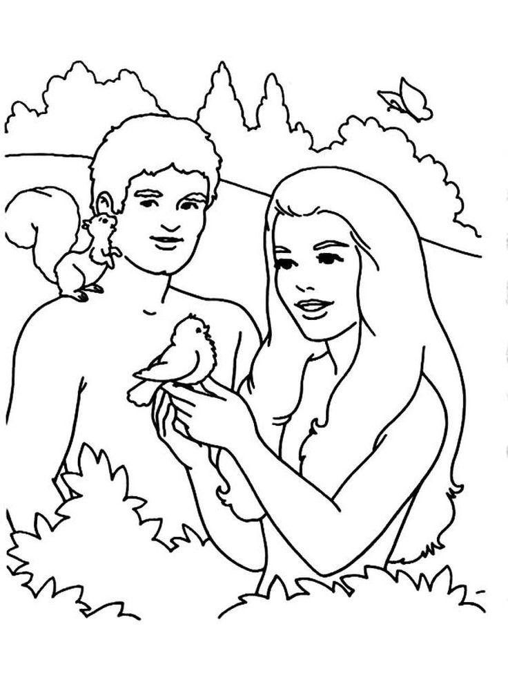 coloring page adam and eve first children of adam and eve coloring page free adam and coloring page eve