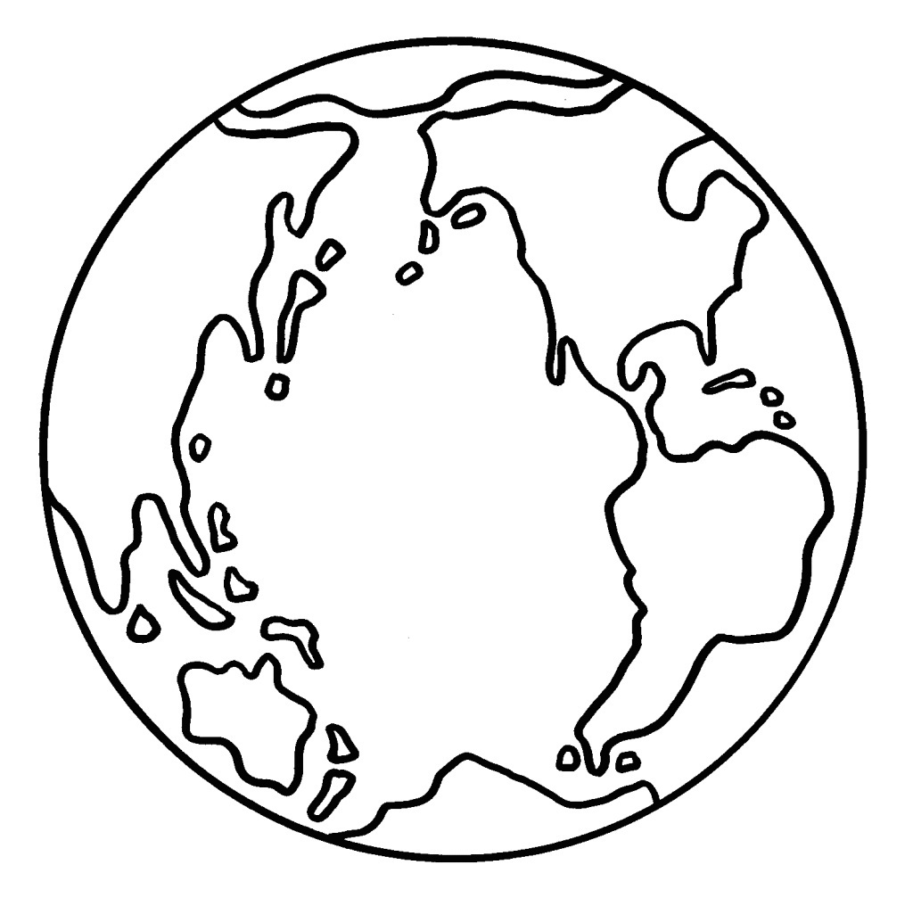 coloring page earth earth globe coloring page wecoloringpage 019 earth page coloring