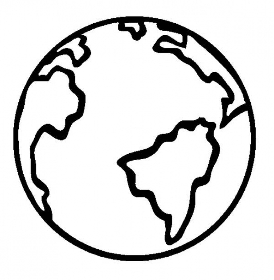 coloring page earth free printable earth coloring pages for kids coloring earth page