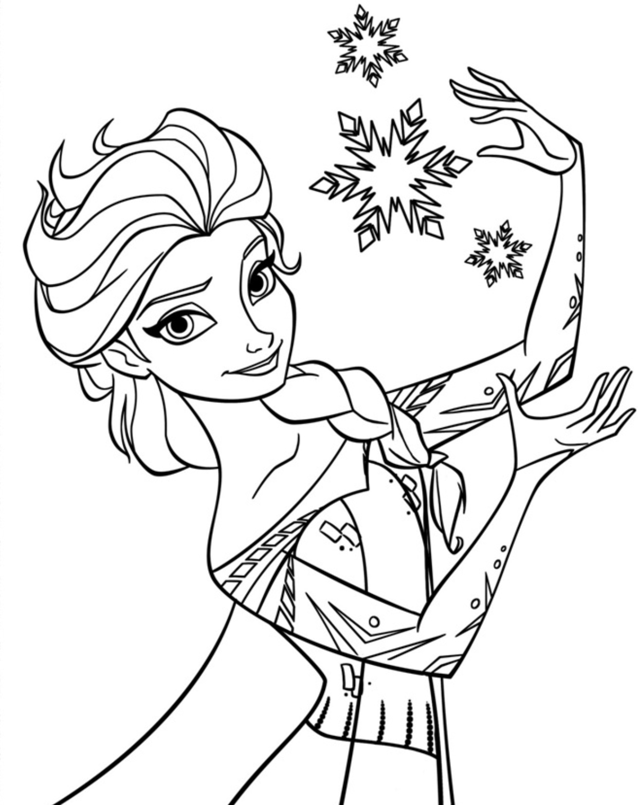 coloring page elsa free printable elsa coloring pages for kids best elsa page coloring