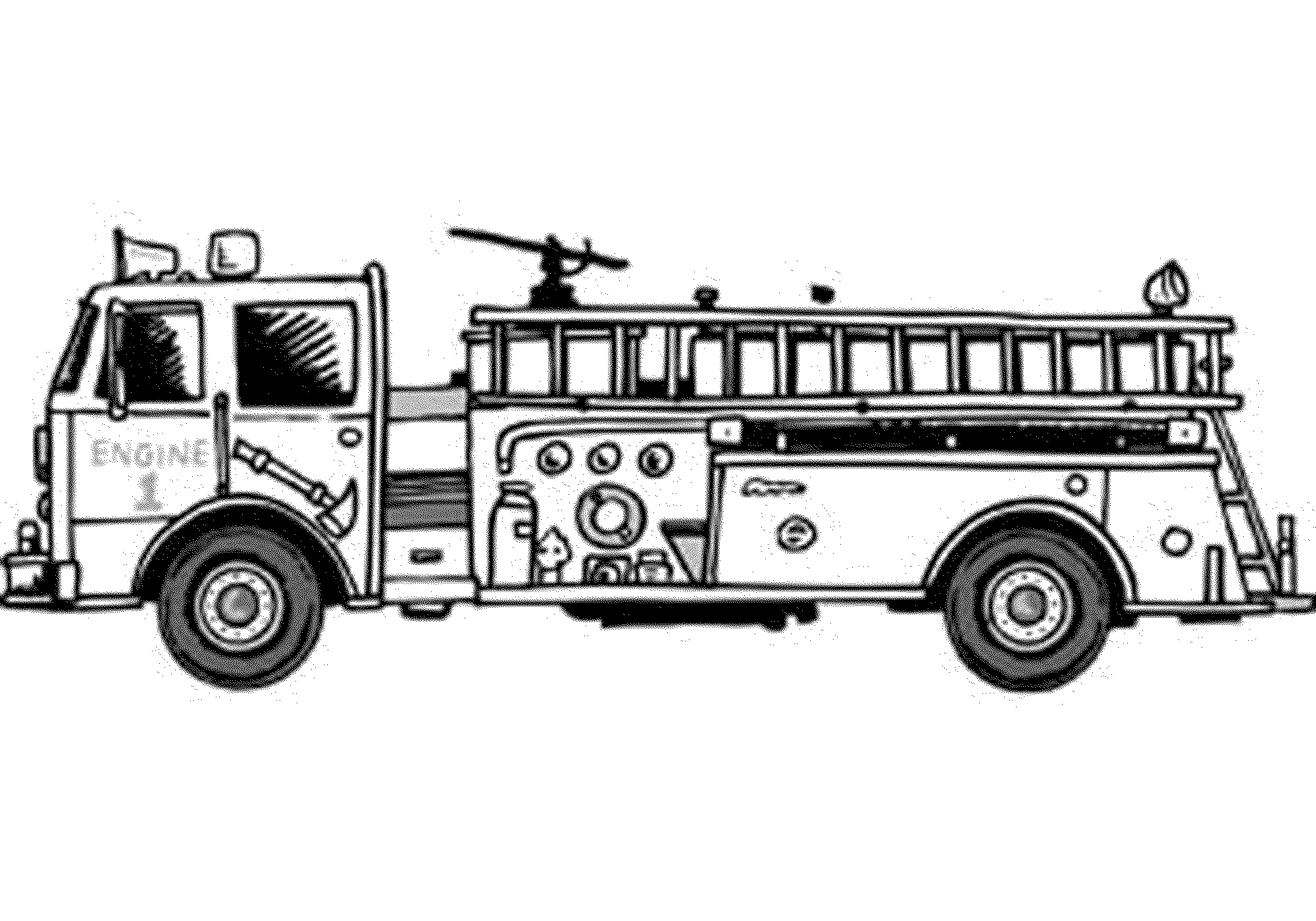 coloring page fire truck fire truck coloring pages coloring pages to download and page truck coloring fire