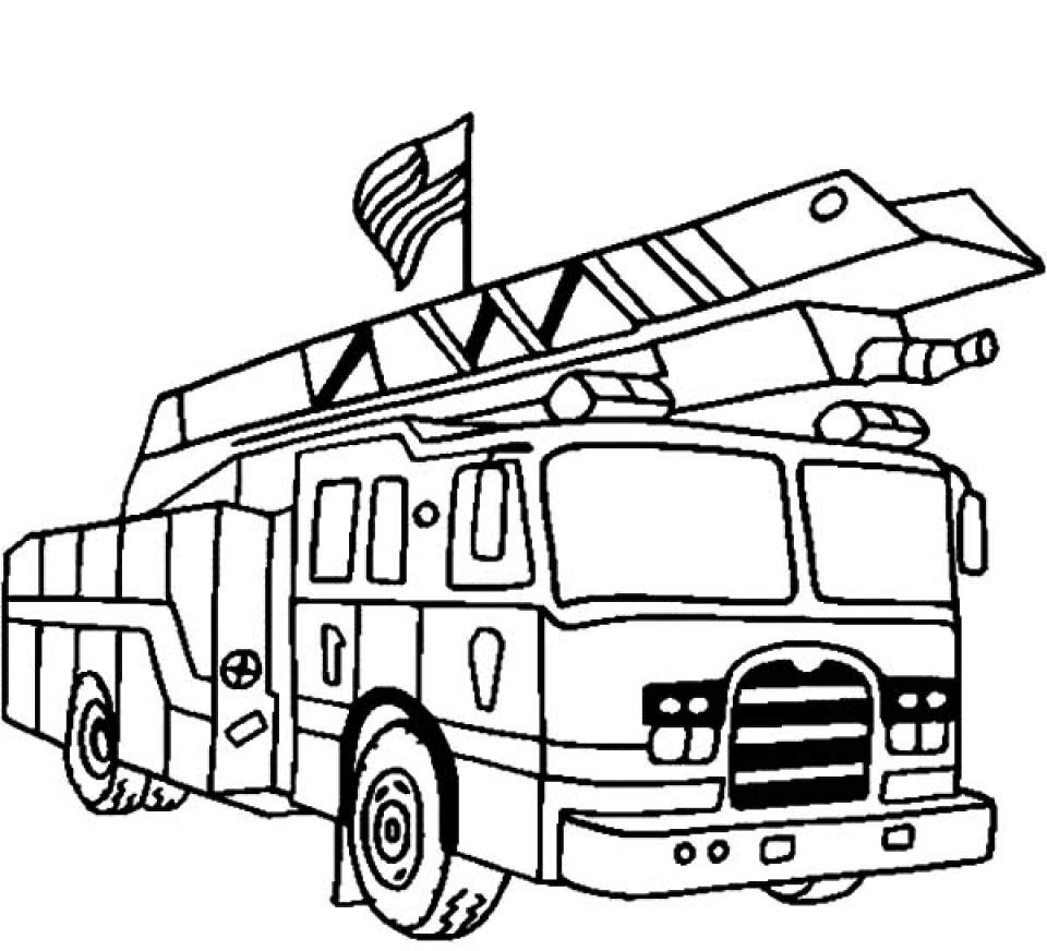 coloring page fire truck fireman coloring pages for kids printable coloring home coloring truck page fire