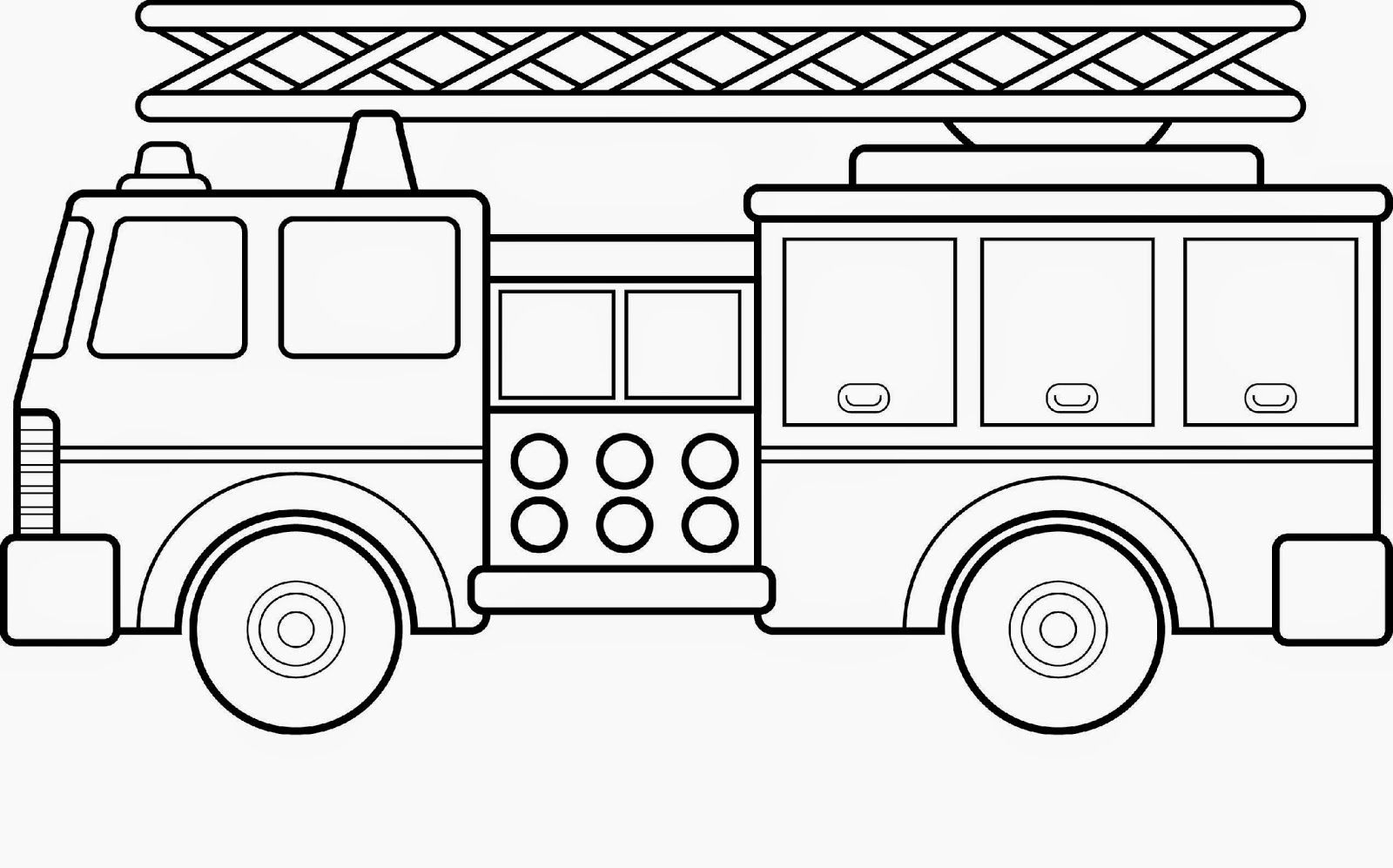 coloring page fire truck free fire truck coloring pages printable at getdrawings coloring fire page truck