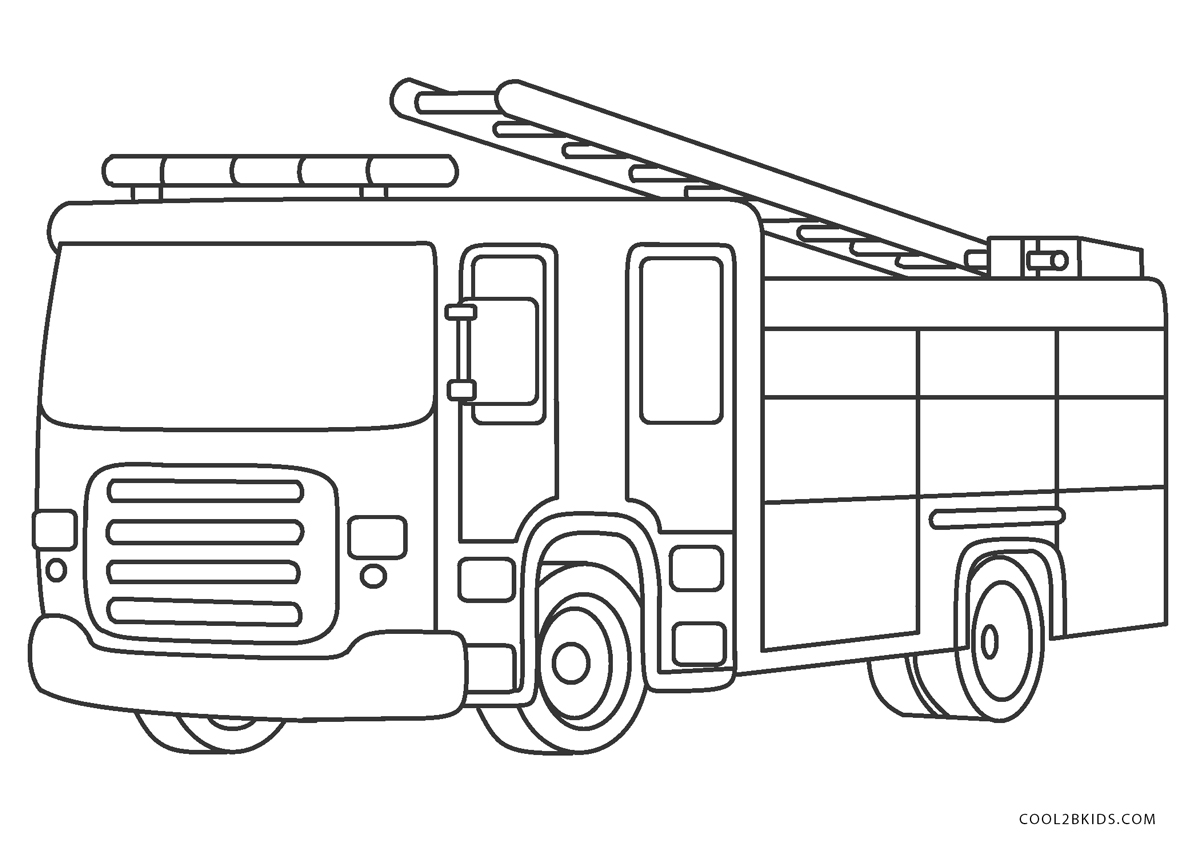 coloring page fire truck free printable fire truck coloring pages for kids coloring fire truck page