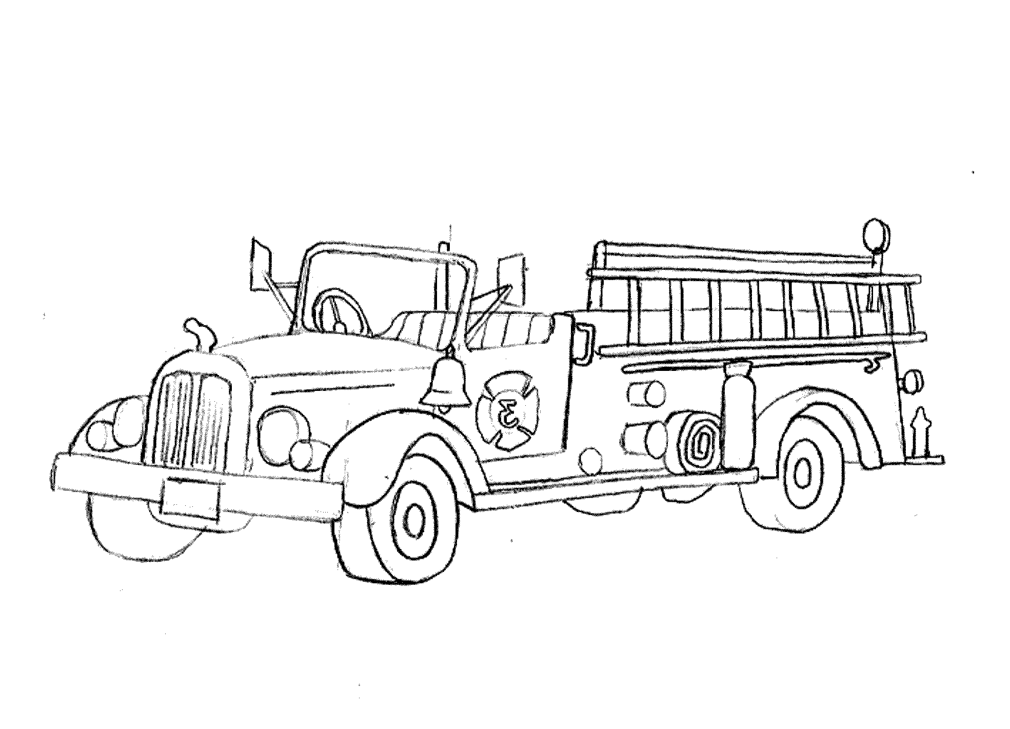 coloring page fire truck print download educational fire truck coloring pages coloring fire page truck