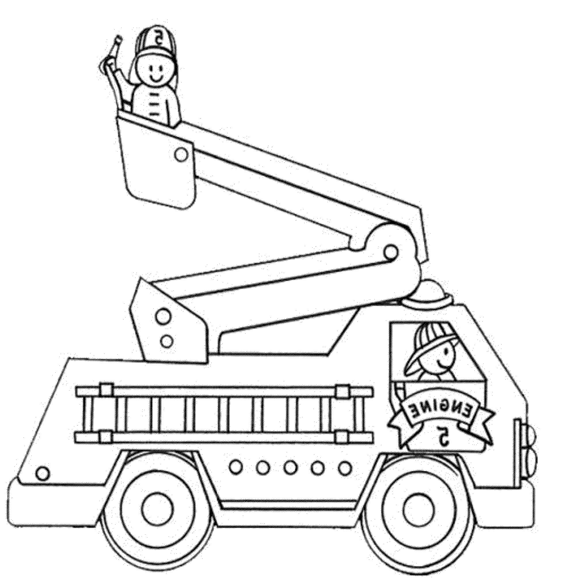 coloring page fire truck print download educational fire truck coloring pages coloring fire truck page