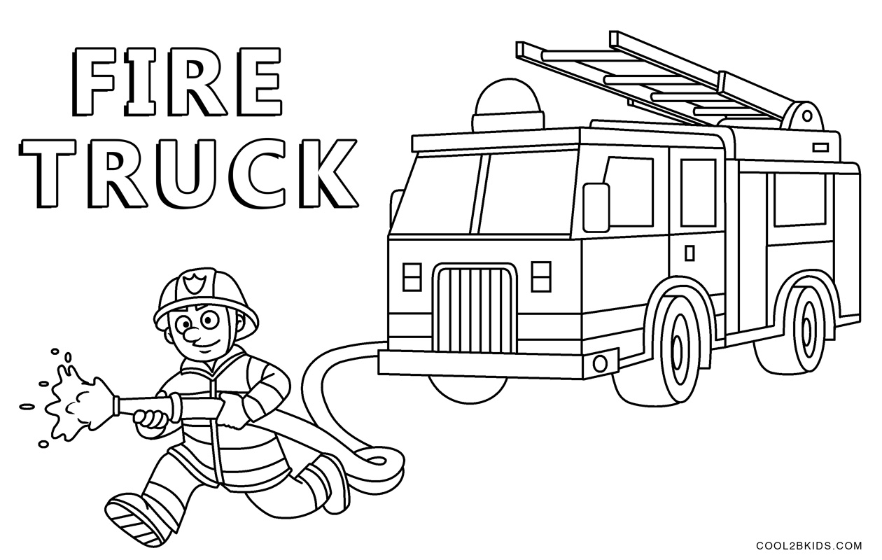 coloring page fire truck print download educational fire truck coloring pages fire page coloring truck