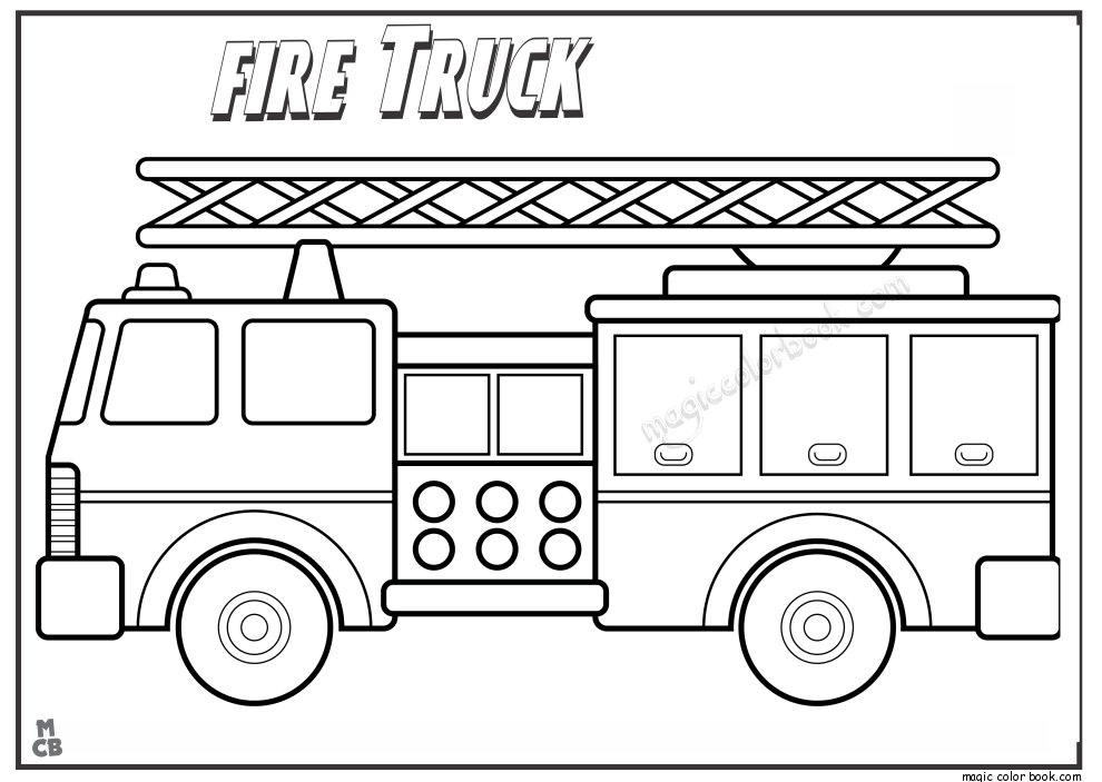 coloring page fire truck print download educational fire truck coloring pages page coloring fire truck