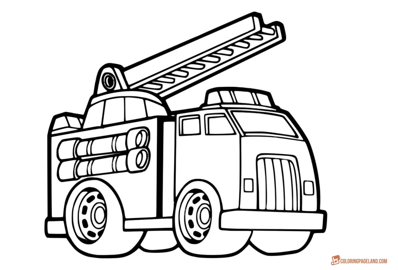 coloring page fire truck print download educational fire truck coloring pages page fire truck coloring