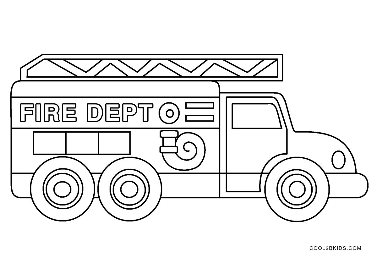 coloring page fire truck print download educational fire truck coloring pages truck coloring page fire